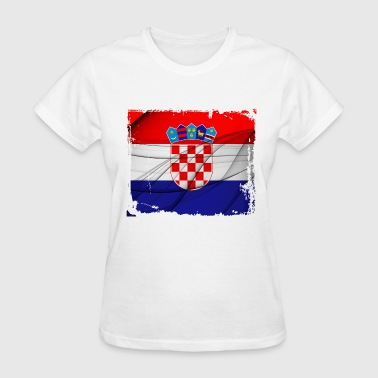 Croatia Flag - Women's T-Shirt