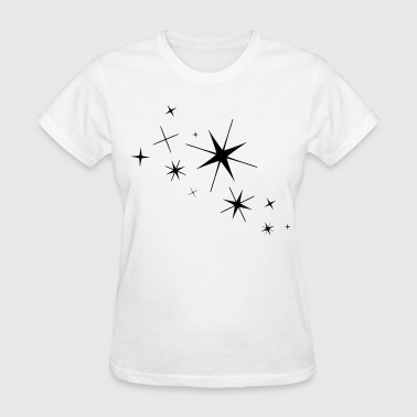 Stars - High Quality Vector - Women's T-Shirt