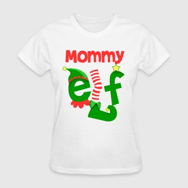 Mommy Elf - Women's T-Shirt