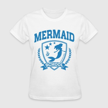 Mermaid School - Women's T-Shirt
