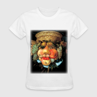 giuseppe_arcimboldo__fruit_basket - Women's T-Shirt