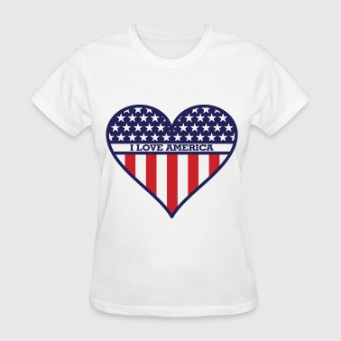 I Love America - Women's T-Shirt