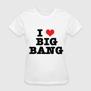 I HEART BIG BANG - Women's T-Shirt