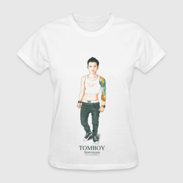 Tomboy. Stereotypes Collection. - Women's T-Shirt