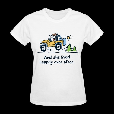 And she lived happily ever after camp - Women's T-Shirt