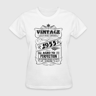 Vintage Aged To Perfection 1955 - Women's T-Shirt