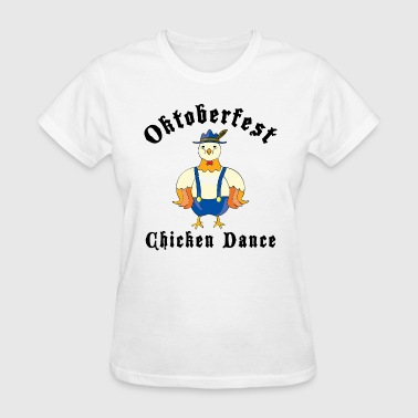 Oktoberfest Chicken Dance - Women's T-Shirt