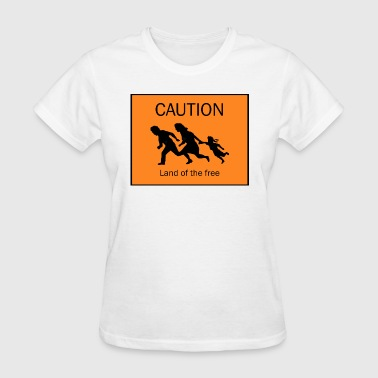 Caution - Women's T-Shirt