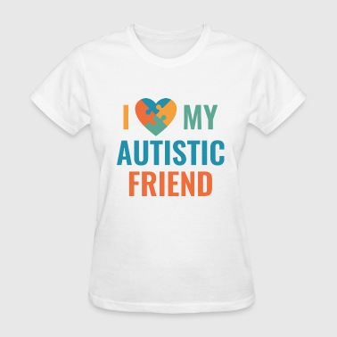 Autistic Friend - Women's T-Shirt