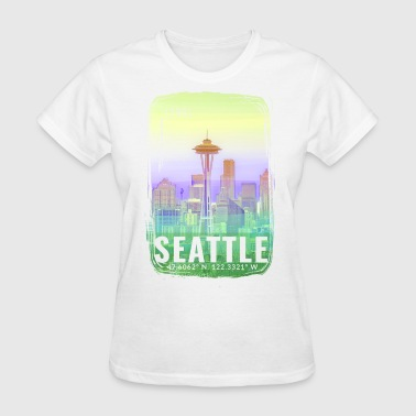 City of Seattle - Women's T-Shirt