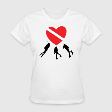 Love SCUBA - Women's T-Shirt