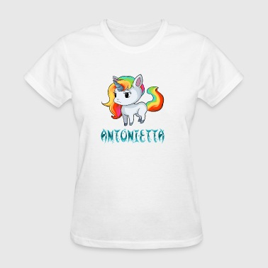 Antonietta Unicorn - Women's T-Shirt