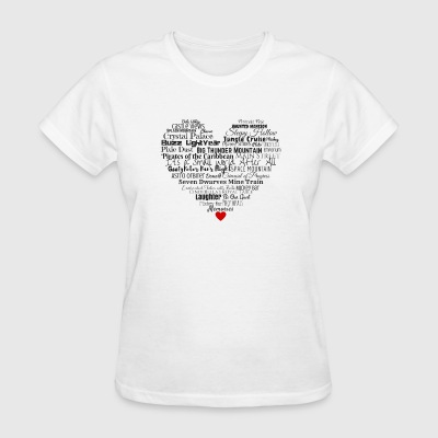 Magic Kingdom Love - Women's T-Shirt