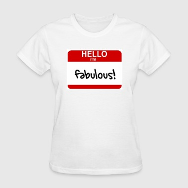 Name Tag - Women's T-Shirt