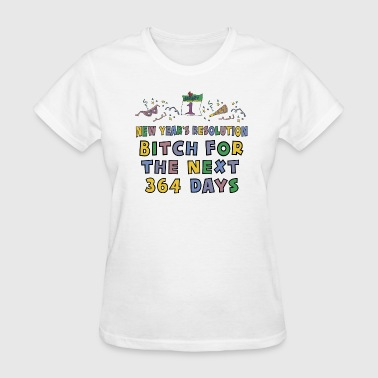 New Year's Resolution - Women's T-Shirt