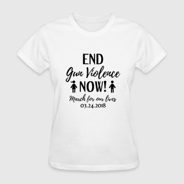 End Gun Violence Now - Women's T-Shirt