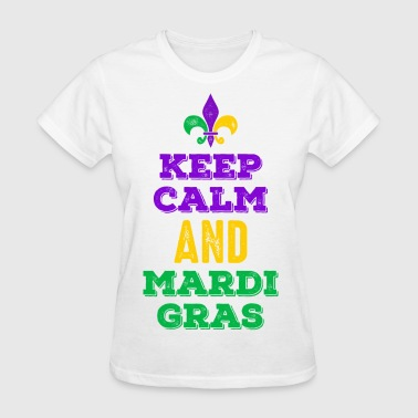 Keep Calm Mardi Gras - Women's T-Shirt