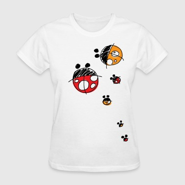Lady Bug Family - Women's T-Shirt