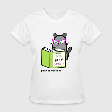 Cats and books - Women's T-Shirt