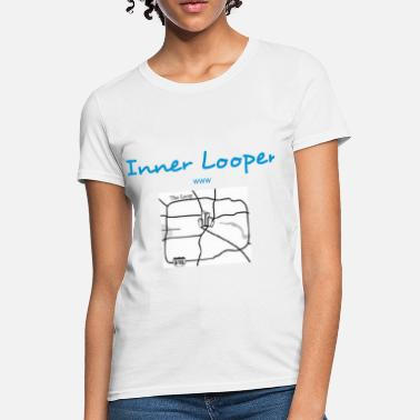 Loop Houston Loop 610 Houston - Women's T-Shirt
