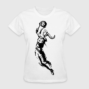 Girl's Basketball  - Women's T-Shirt
