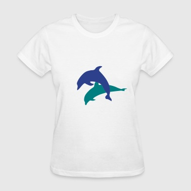Dolphins - Dolphin - Women's T-Shirt