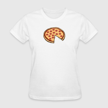 Funny Cute Pizza Slice Matching Shirt Couple Love - Women's T-Shirt