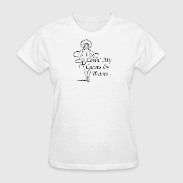 Curves & Waves - Women's T-Shirt