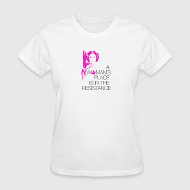 A Woman's Place - Women's T-Shirt