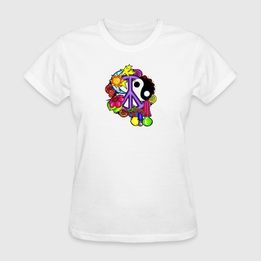 PEACE COLLAGE - Women's T-Shirt