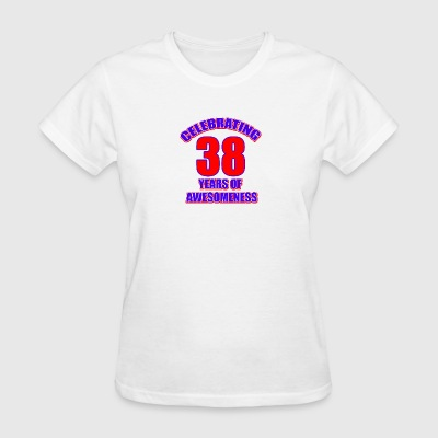 38th birthday design - Women's T-Shirt