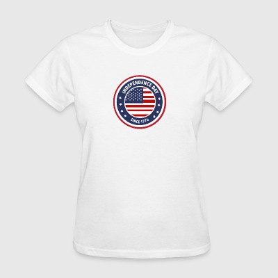 4th of July Independence day - Women's T-Shirt