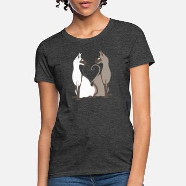 Collection Love Siamese Cat - Women's T-Shirt