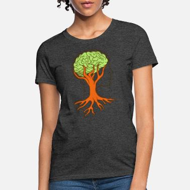 Cell Weed smoking brain - Women's T-Shirt