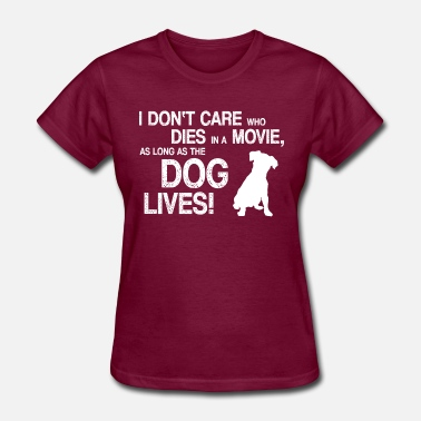 Daring Couples WE LOVE THE MOVIE DOGS - Women's T-Shirt