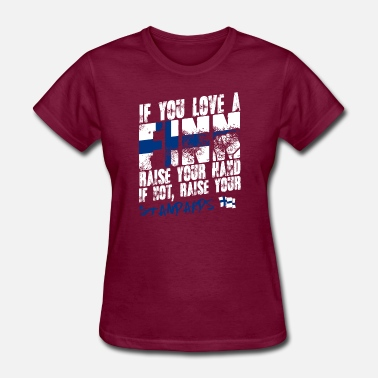 Wolfhard Country Shirt - If You Love A Finn - Women's T-Shirt