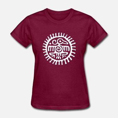 Native American Symbols INDIANS SYMBOLS - Native Americans - Women's T-Shirt