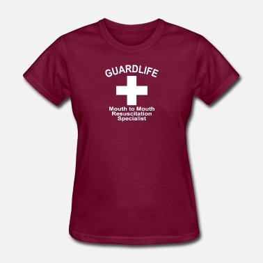 Mouth Guards GuardLife, Mouth To Mouth Resuscitation Specialist - Women's T-Shirt
