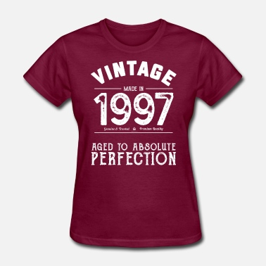 Twenty20 1997 Aged To Perfection: 20th Birthday Present - Women's T-Shirt
