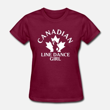 Canadiens CANADIEN LINED ANCE GIRL - Women's T-Shirt