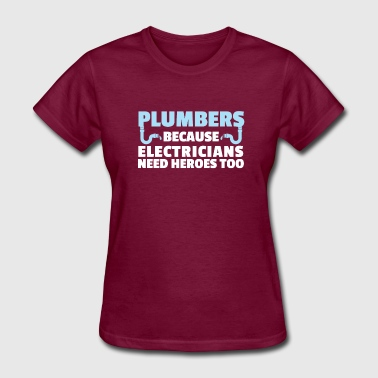 Jobs - Hero Plumbers - Women's T-Shirt