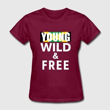 Young Wild Free Young Wild Free 7 - Women's T-Shirt