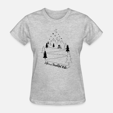 Mtb Life mtb MTB mountain biking mountainbike - Women's T-Shirt