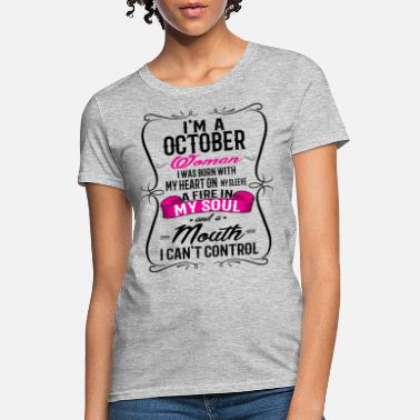 October OCTOBER WOMAN - Women's T-Shirt