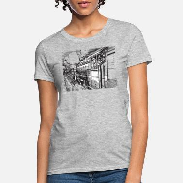 Train Driver Vintage Train Train Driver - Women's T-Shirt