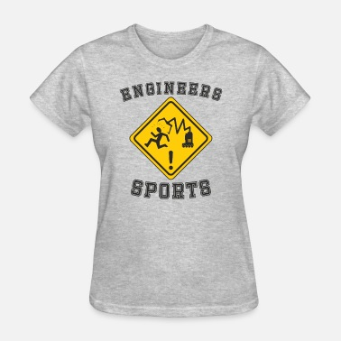 At Sign Sport Funny Rhombus Robotic Engineers Sports Sign - Women's T-Shirt