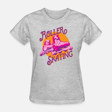 Design Drawing Roller Skating Drawing Painting Design Art Drawing - Women's T-Shirt