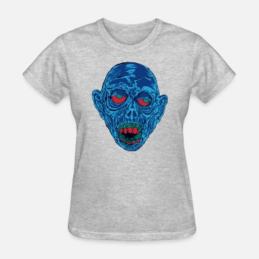 Shock Monster Graveyard Ghoul Shocking Blue - Women's T-Shirt