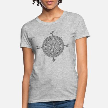 Asatru Viking Ship Compass gift Shirt - Women's T-Shirt