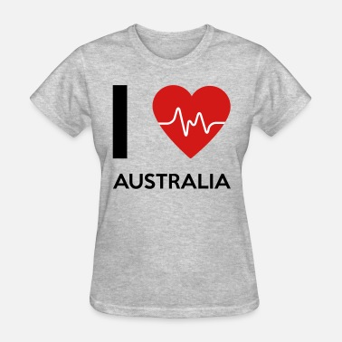 I Travel Australia I Love Australia - Women's T-Shirt